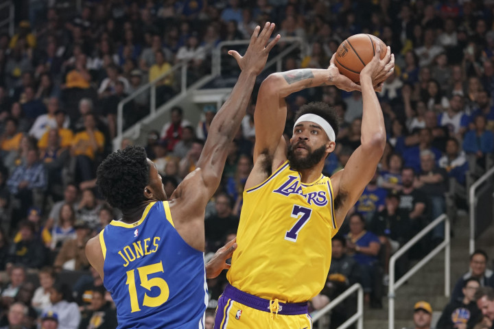 JaVale McGee Warriors Lakers Preseason 2018