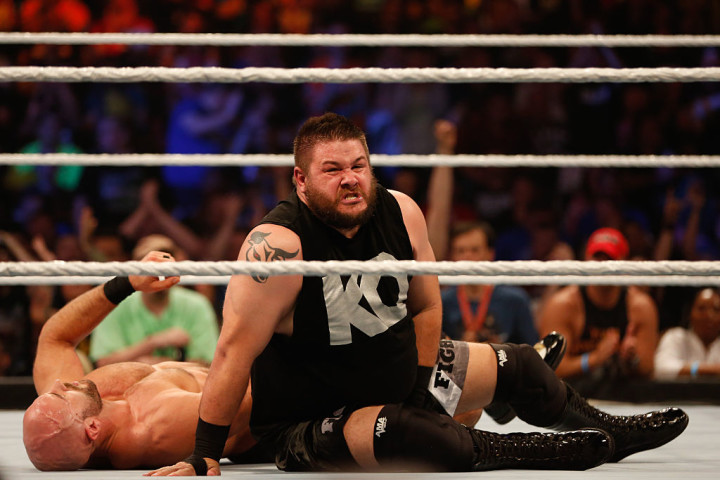 Kevin Owens SummerSlam 2015 Getty