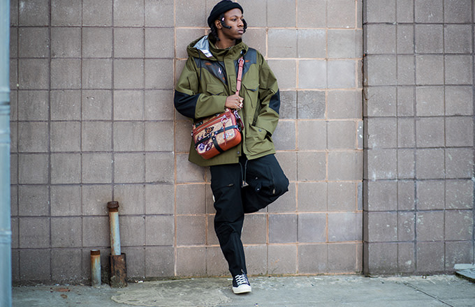 This is a photo of Joey Badass.