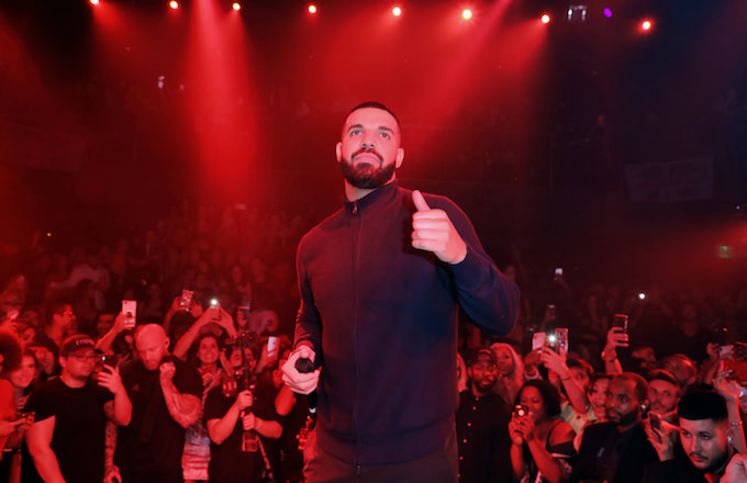 Drake performs at E11EVEN MIAMI during his official concert after party.