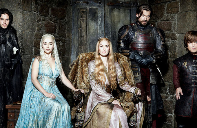 A promotional picture of the main cast of 'Game of Thrones.'