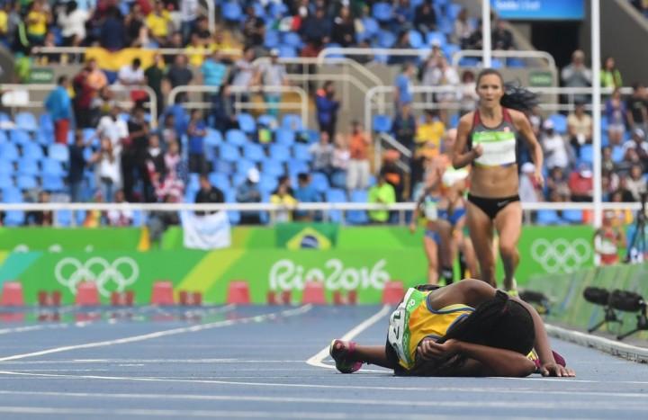 Salmoe Nyirarukundo Finish Line Rio Games 2016