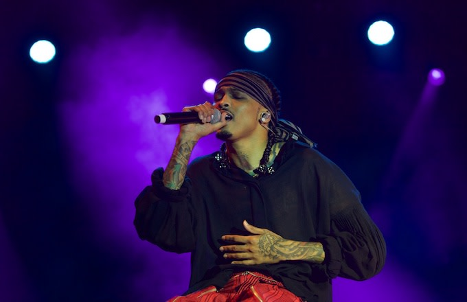 August Alsina Claims Label Is Holding Up His Album: 'Tell Them to