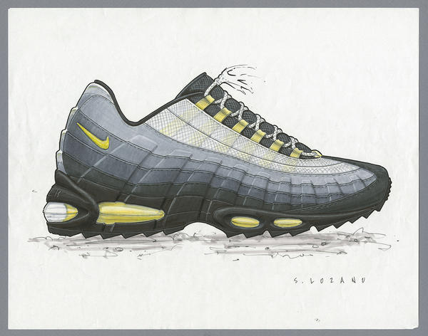 Air Max 95 sketch
