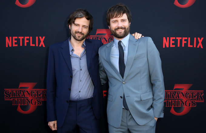 "Matt Duffer and Ross Duffer attend the ""Stranger Things"" Season 3 World Premiere."