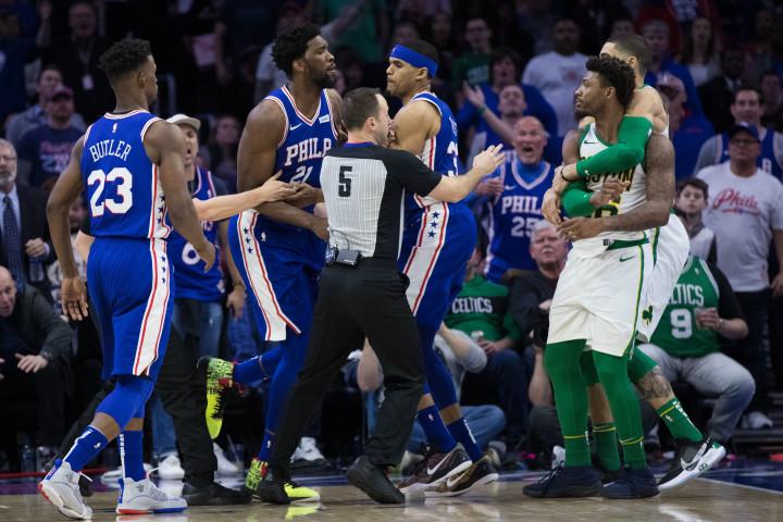 Celtics Sixers March 2018