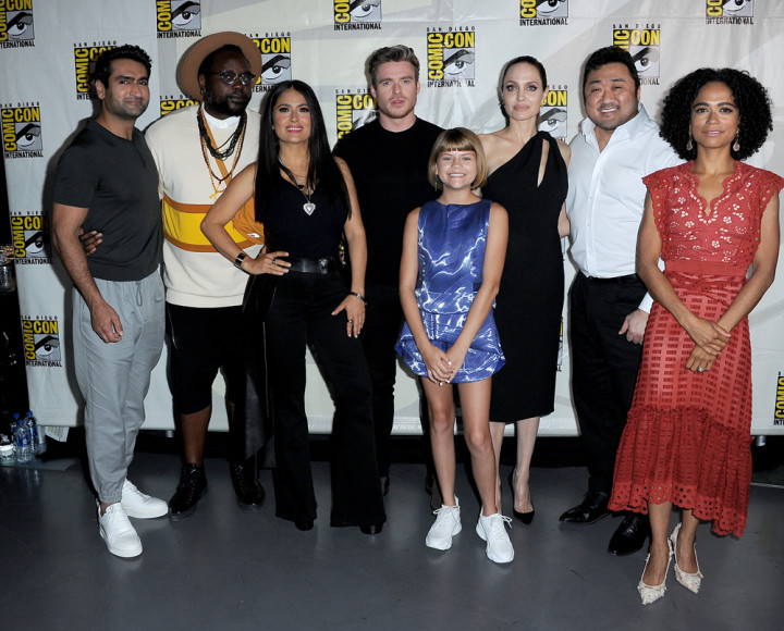 'Eternals' cast a Comic-Con 2019