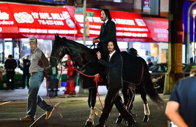 Keanu Reeves' Incredible Horse Moment in 'John Wick 3
