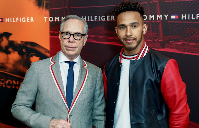 ed31c379e Lewis Hamilton Is the New Global Menswear Ambassador for Tommy Hilfiger