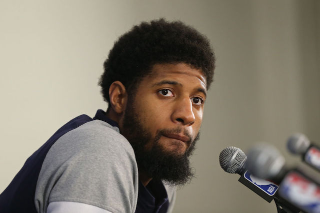 This is a picture of Paul George.