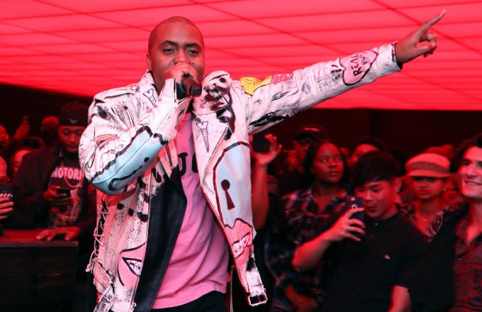 Nas performs at Swizz Beatz 'Poison' Album Release Party