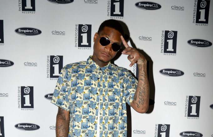 Musical artist Slim 400 attends the Interscope BET Party