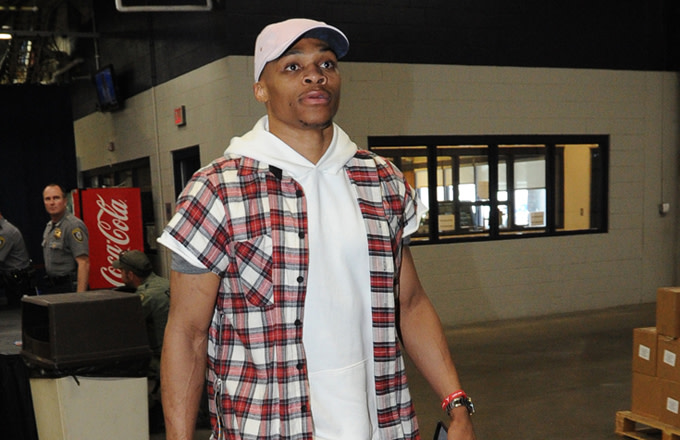 Russell Westbrook's Pre-Game Fits Versus His Playoff