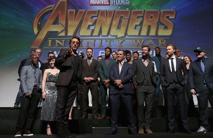 'Infinity War' cast