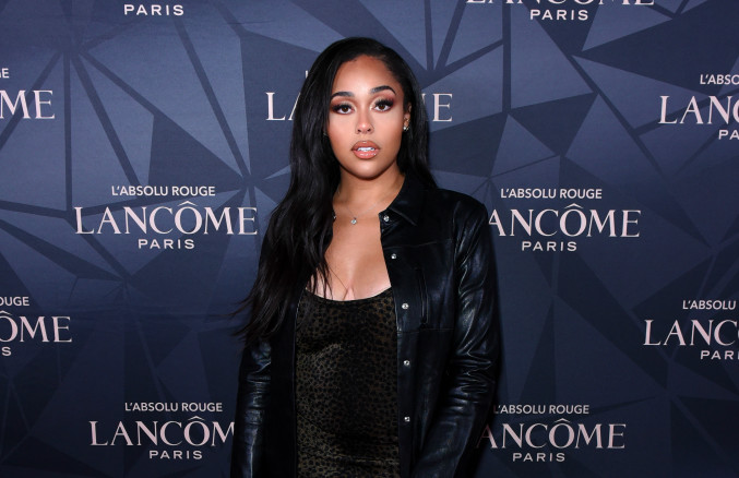 Jordyn Woods attends Lancôme x Vogue L'Absolu Ruby Holiday Event