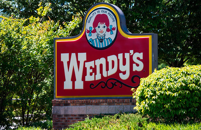 This is a photo of Wendys.