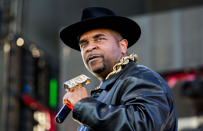 Sir Mix-A-Lot performs at the Sasquatch! Music Festival.