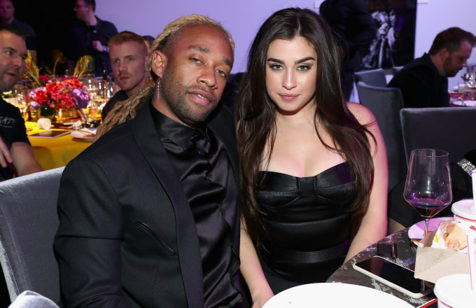 Ty Dolla $ign and Lauren Jauregui attend Steven Tyler's Second Annual GRAMMY Awards