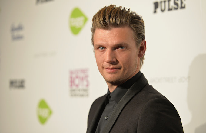 Singer Nick Carter