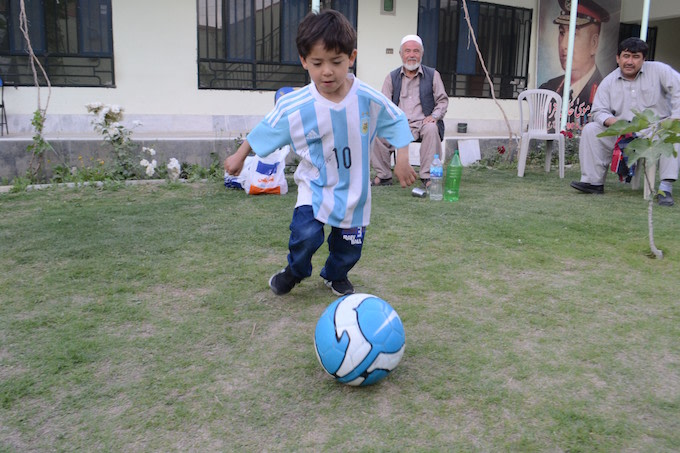Murtaza Ahmadi in Pakistan