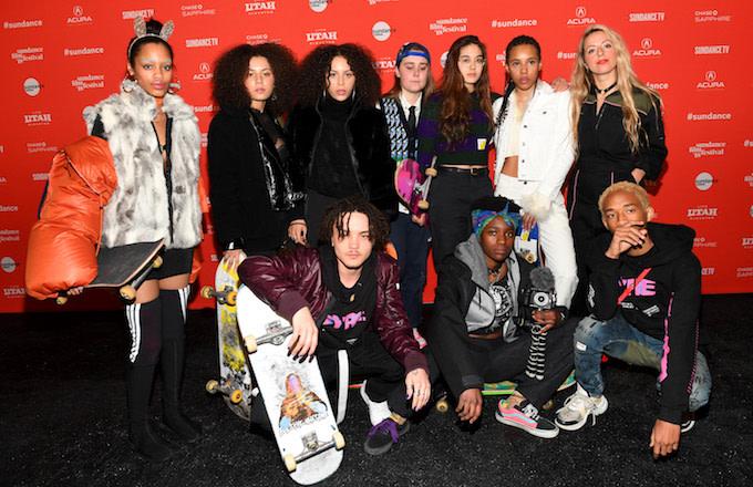 Skate Kitchen cast