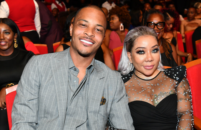 "T.I. and Tameka ""Tiny"" Harris attend 2019 Black Music Honors"