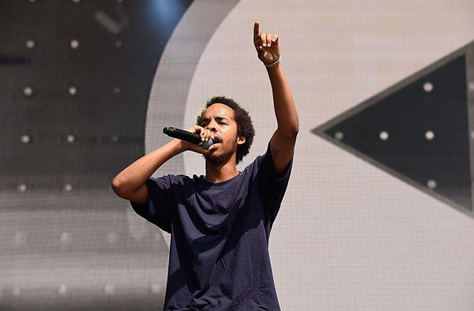This is a photo of Earl Sweatshirt.