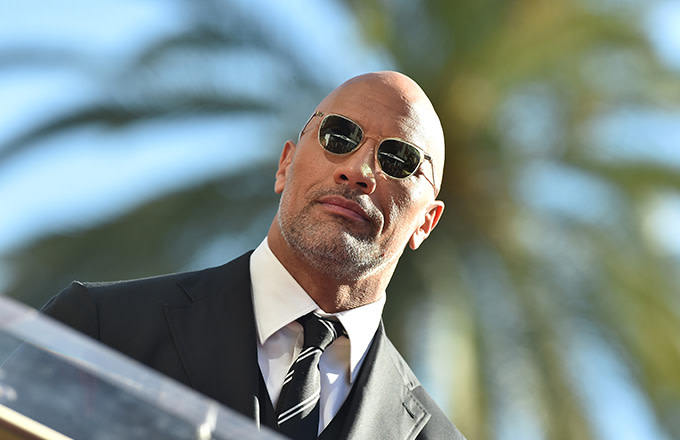 This is a photo of The Rock.