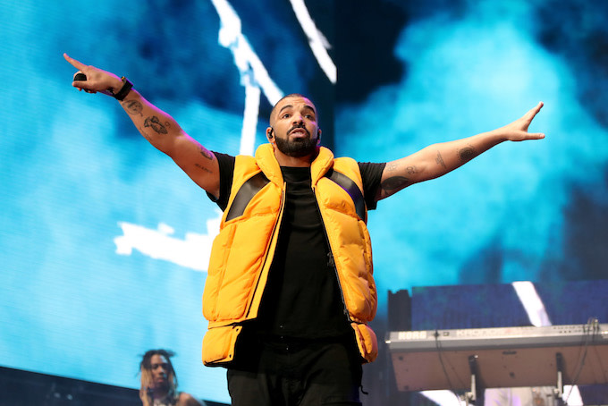 Drake at Coachella