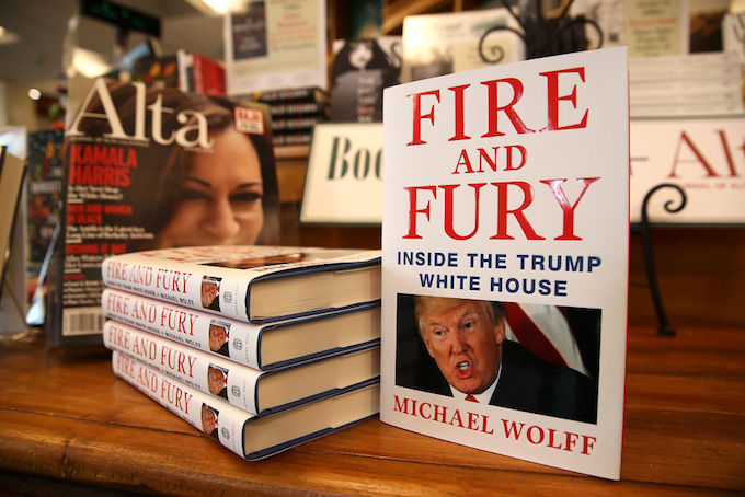 This is a picture of 'Fire and Fury.'