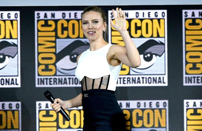 Scarlett Johansson at Comic-Con