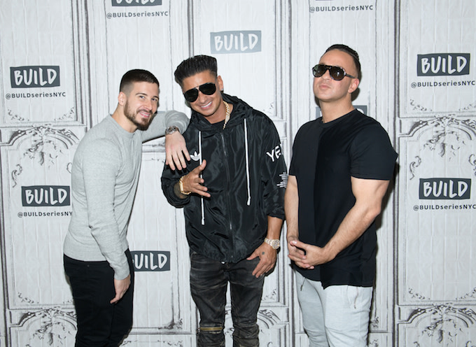 Boys from 'Jersey Shore' in NYC