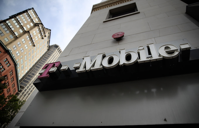 T-Mobile store.