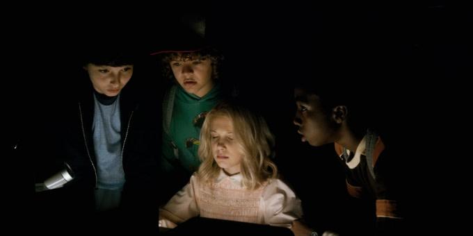 The cast of 'Stranger Things'