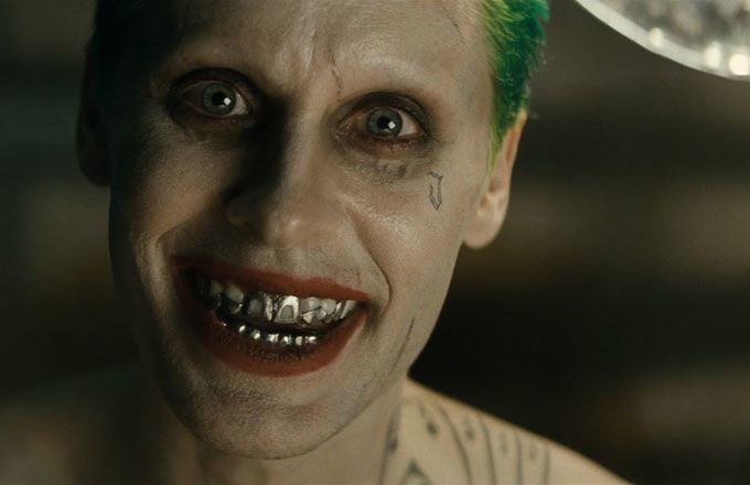Jared Leto as The Joker in Warner Bros.'s 'Suicide Squad'