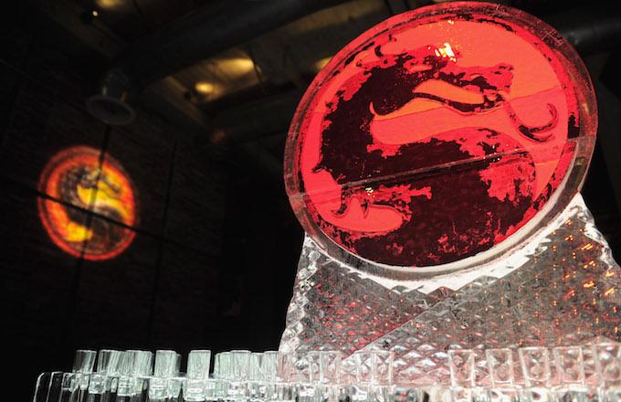 "general view of the atmosphere at the unleashing of Warner Bros.' ""Mortal Kombat Legacy""."