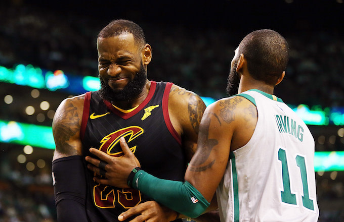 f70dc5ed3 LeBron Says Kyrie Irving Trade Was 'Beginning of the End' for Cavs ...