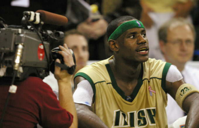 best loved 98057 ef779 LeBron James Opens up About Being Financially Exploited as a ...