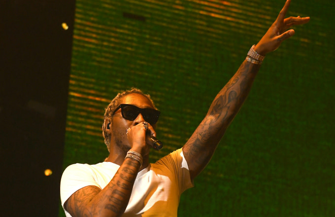 """Rapper Future performs onstage during """"Legendary Nights"""" tour"""