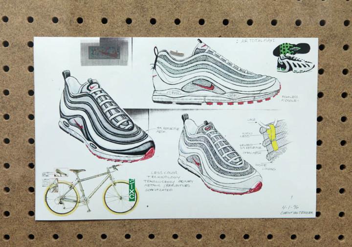huge discount 5f71e 4c0b2 Nike Air Max 97 Sketch 2