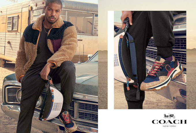 dceca628eb3 Exclusive: Michael B. Jordan Stars in His First Campaign as the New Face of  Coach
