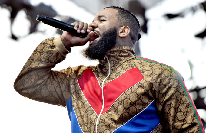 Rapper The Game performs at Summertime in the LBC music festival
