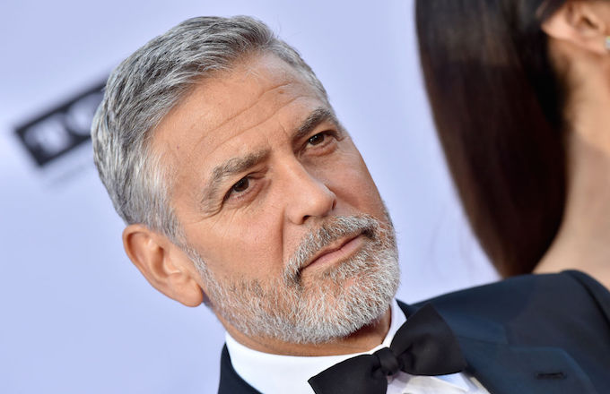 George Clooney accident