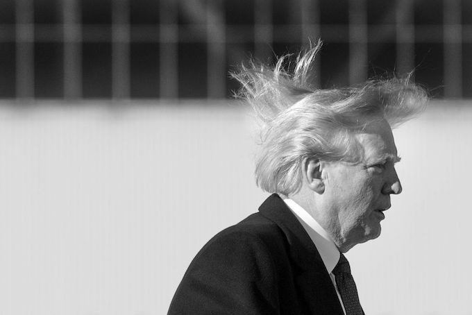 This is a picture of Donald Trump.