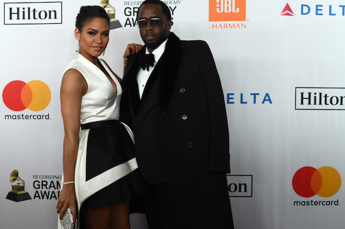 Cassie and Diddy in NYC