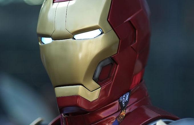Iron Man gravestone