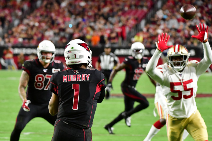 Kyler Murray 49ers Cardinals Arizona 2019