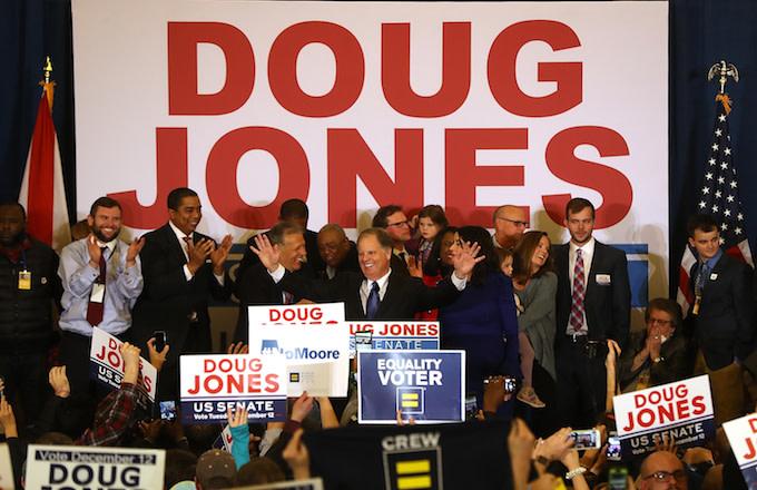 Democratic U.S. Senator elect Doug Jones