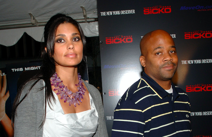 Rachel Roy and Dame Dash