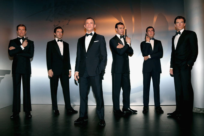 James Bond figures are unveiled at Madame Tussauds in Berlin, Germany